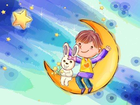 (网友投稿)月亮是个大烙饼