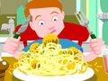意大利面肉丸·英语故事