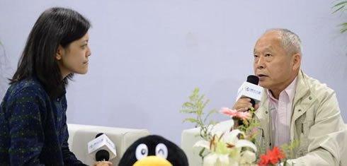 组图:CCBF国际图书展 著名儿童文学作家梅子涵访谈