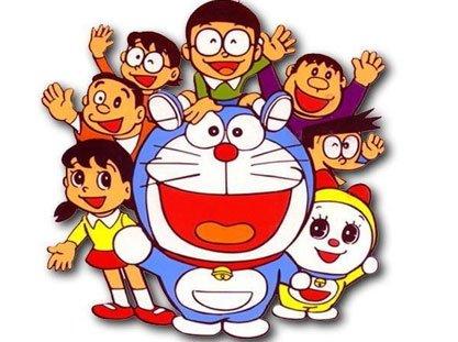 经典动画 哆啦A梦图片