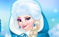 女孩游戏:艾莎导游装