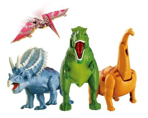 喂恐龙吃饭,你敢吗?图片