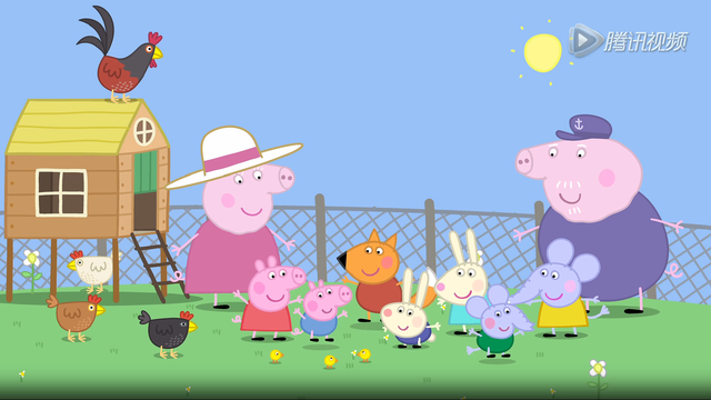 小猪佩奇寻找猪爷爷的神秘彩蛋!