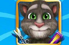 女孩游戏-小汤姆猫剪毛
