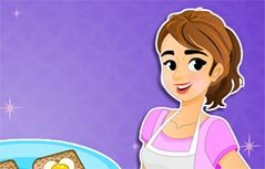 女孩游戏-妈妈做的面包