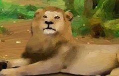 狮王逃出森林