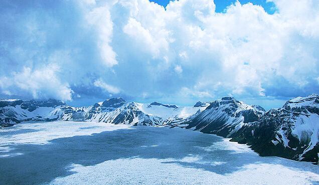 美丽的长白山