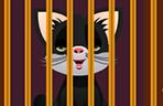 小猫铁笼逃脱