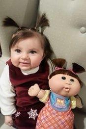 晕!撞脸洋娃娃的10大萌娃