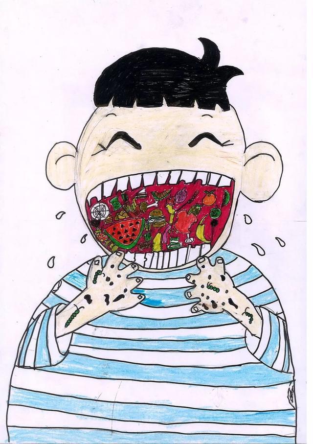 第五届 少年中国 优秀作品征集 少儿组 全国儿童食品安全守护行动 少儿绘画大赛获奖作品公示
