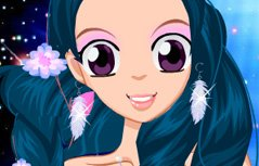 女孩游戏:美丽的双鱼座女孩