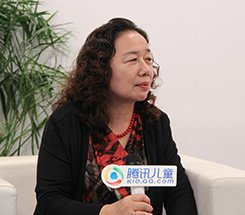组图:CCBF国际童书展 科学普及出版社肖叶接受采访