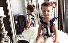 组图:赢在起跑线!澳两岁模特将亮相纽约时装周