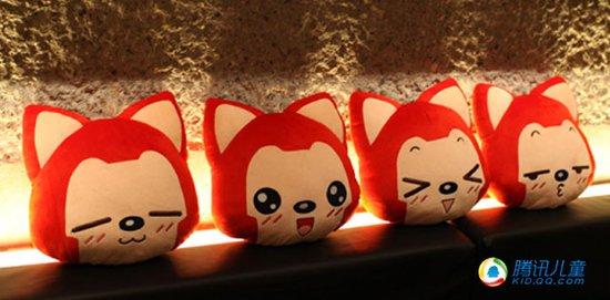 组图:阿狸可爱周边-表情靠枕