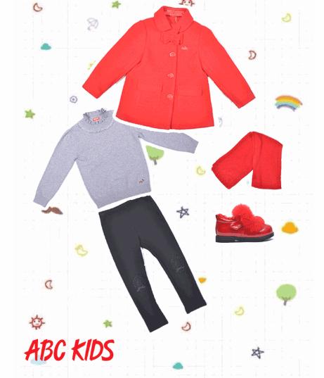 新年换新衣,ABC KIDS潮流年装闪耀来袭