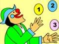 小丑杂技表演·数字排序