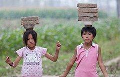 组图:山东民间杂技之乡:童年与梦想