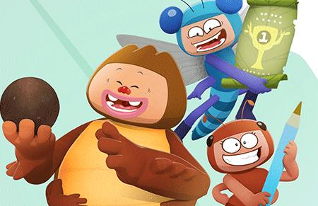 萌趣昆虫3D动画——《酷虫学校》亮相中国国际动漫节