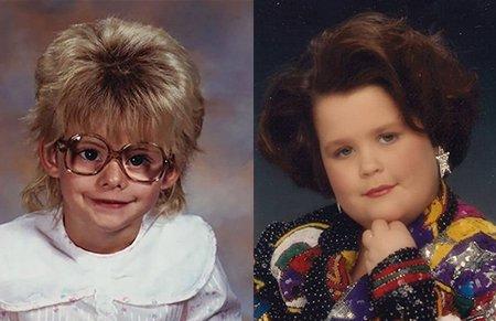 不堪回首的童年照,10岁的我拍出了中年人的既视感