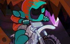 男孩游戏:地下摩托探险