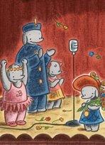 小象艾拉·第一次上台