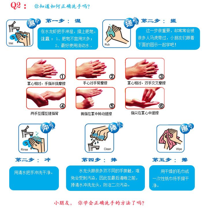 你真的会洗手吗?