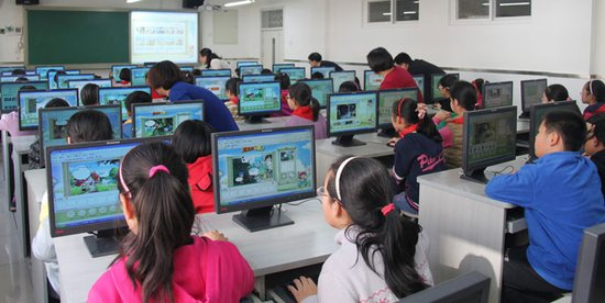 腾讯儿童diy微漫画走进小学生课堂图片