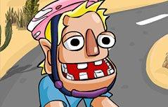 男孩游戏-狂奔自行车