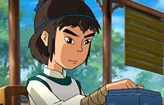 男孩动画:围棋少年