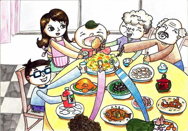 """""""全国儿童食品安全守护行动""""少儿绘画大赛获奖作品公示图片"""