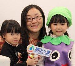 组图:CCBF国际童书展 萌宝宝演讲比赛冠军