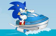 男孩游戏:索尼克水上摩托2