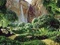 组图:用蔬菜水果拍摄风景照