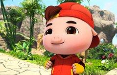 男孩动画-猪猪侠之竞球小英雄