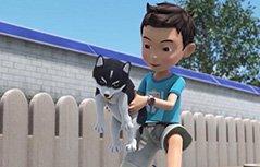 男孩动画:神奇的朋友