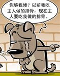 趣味漫画:阿猫阿狗的对话