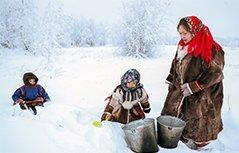 以鹿为友以篷为家:走近俄罗斯北部游牧土著人的生活