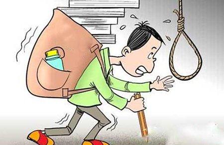 广东一小学生上吊身亡 提前一天写下遗书疑为自杀图片