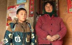 组图:河南9岁留守男孩2年未见妈 写纸条盼望妈回家过年