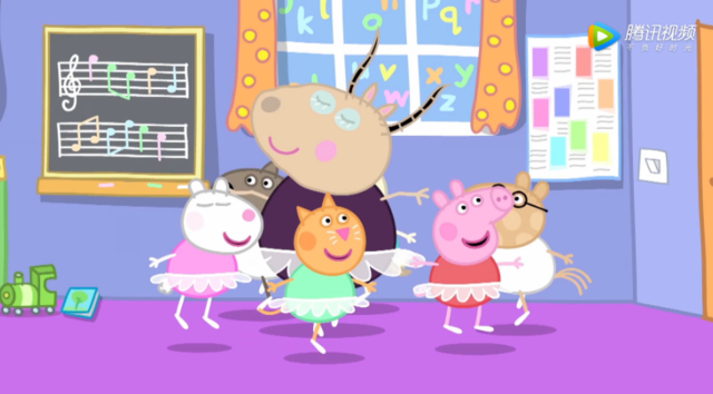 小猪佩奇:a新人的六一的新人搞笑欢迎图片里群图片
