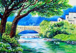 继续跟随着昔日的大河而下