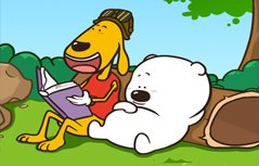 小囧熊超可爱手机壁纸
