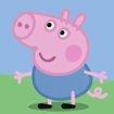 爱吃饭 身体棒 小猪佩奇给你比心