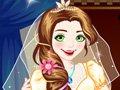 长发公主的婚纱