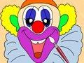 画小丑·颜色及脸部单词