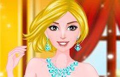 女孩游戏—露肩小礼服