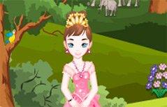 女孩游戏-粉红公主逃离森林