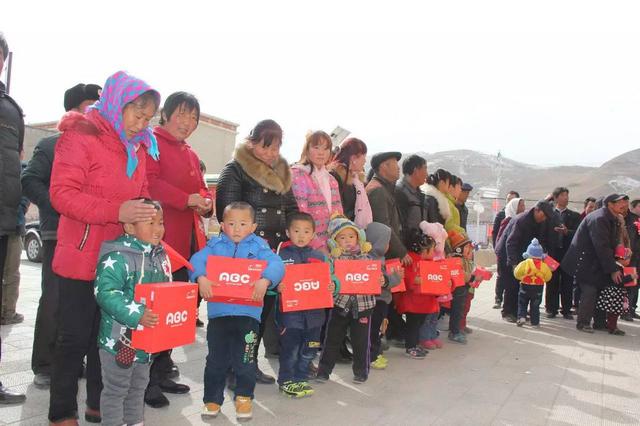 "ABC KIDS""温暖中国行""走进甘肃"