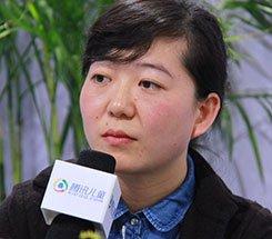 组图:CCBF国际童书展 心喜悦策划总监吕心星接受采访