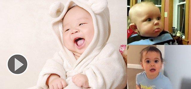 宝宝看到妈妈敷面膜后的反应...急得直哭!